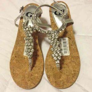 Beautiful Sparkly Gianni Bini Sandals